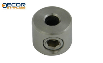 4Round clamp with grub screw for wire DSA05039-1