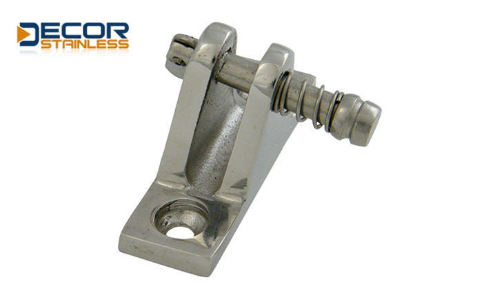 deck hinge angle with release pin DS0611J