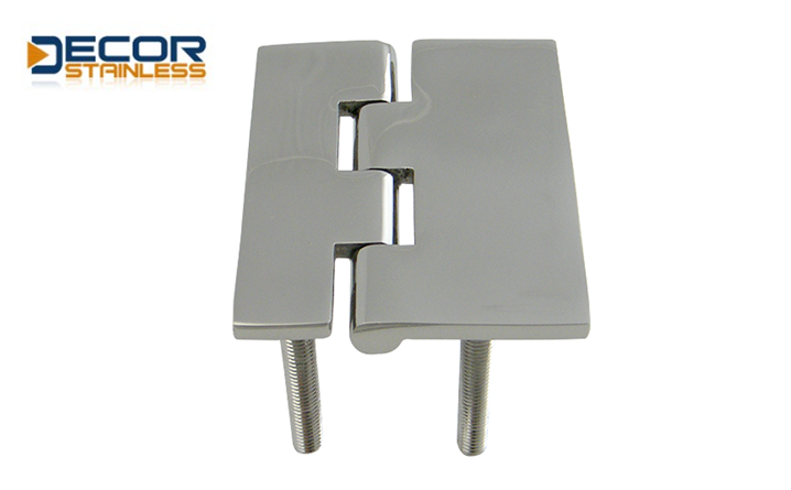 Door Hinge With Threaded Stud
