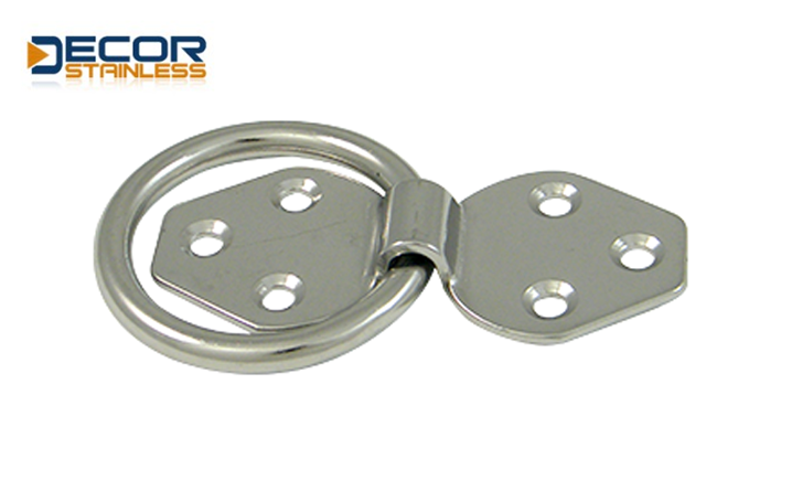 Fixed plate with ring DSA00197-6