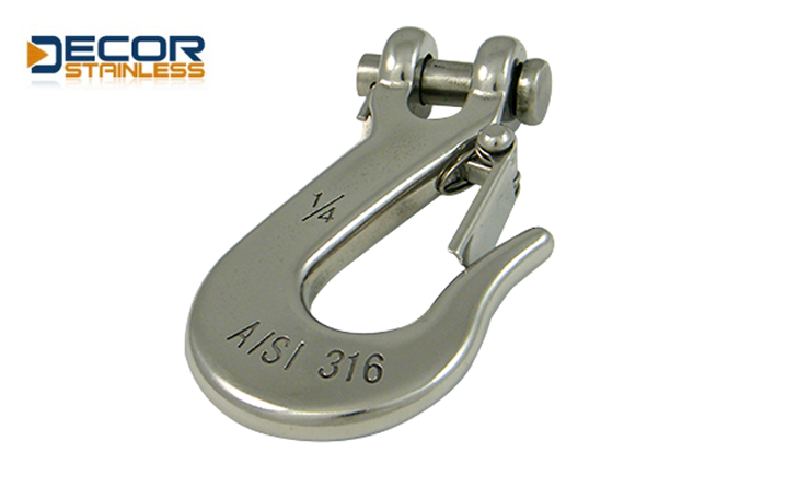Clevis slip hook with tongue DSA02167-6
