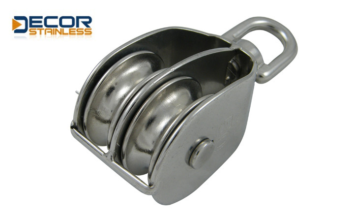 swivel block with double pulley DSA01205-25
