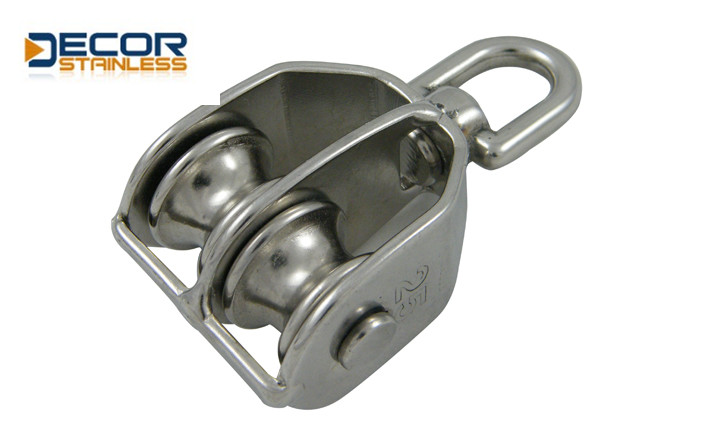 swivel block with double pulley1 DSA01204-25
