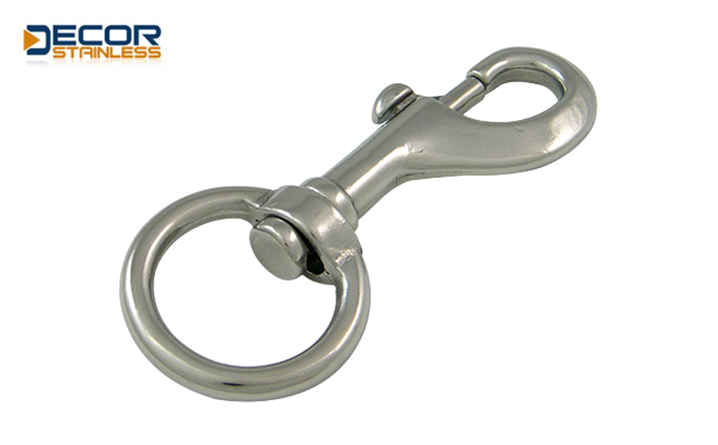 Swivel bolt snap with ring DSA01175-(1)